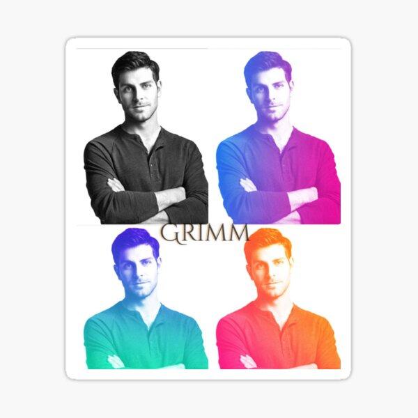 Nick burkhardt Sticker