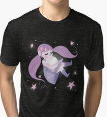 Moon girl Tri-blend T-Shirt