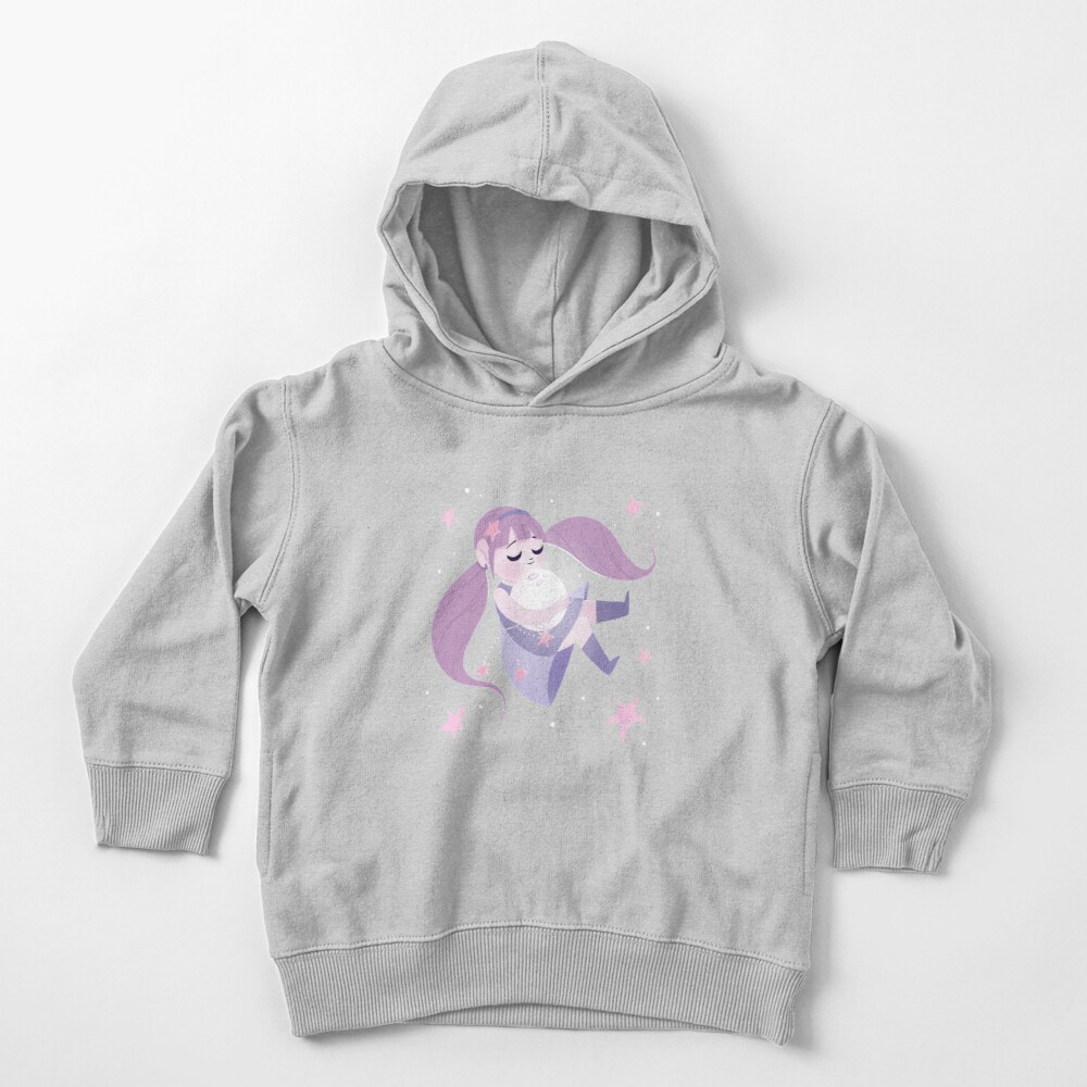 Moon girl Toddler Pullover Hoodie