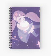Moon girl Spiral Notebook
