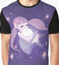 Moon girl Graphic T-Shirt