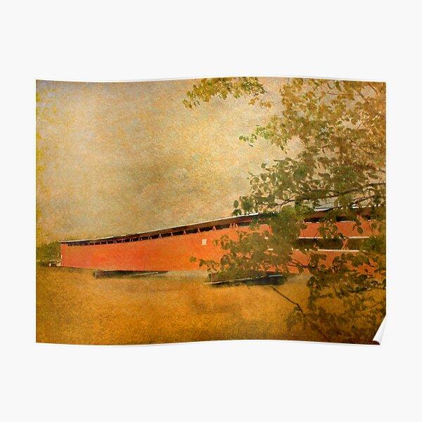 Langley Covered Bridge Poster