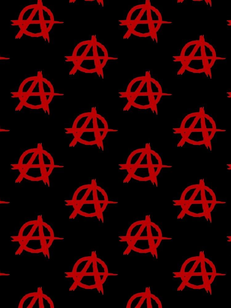 Anarchy Symbol T Shirt by bitsnbobs