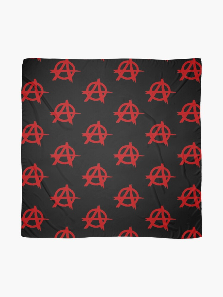 Alternate view of Anarchy Symbol T Shirt Scarf