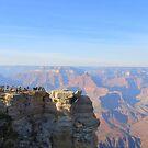Panoramablick auf den Grand Canyon von kkphoto1