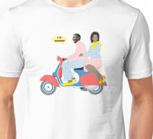 OBAMA HEART VESPA Unisex T-Shirt