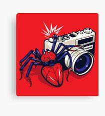 Spider Shot Canvas Print