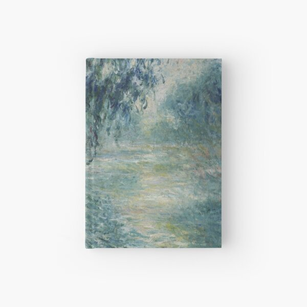 Claude Monet - Morning on the Seine Art Work Hardcover Journal