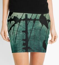 Silent Threats Mini Skirt