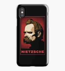 Nietzsche Print iPhone Case