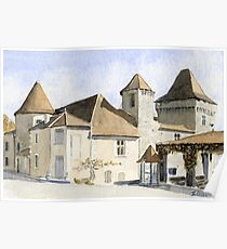 The chateau at Varaignes Poster