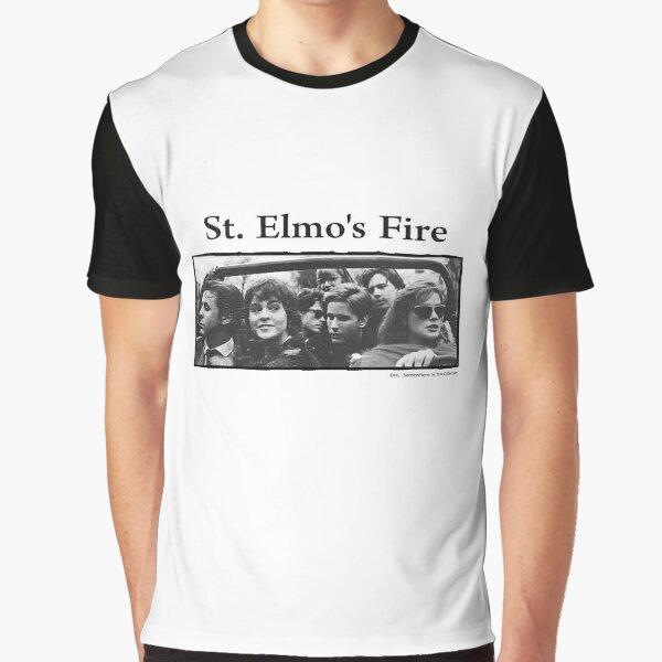 St. Elmo's Fire Graphic T-Shirt