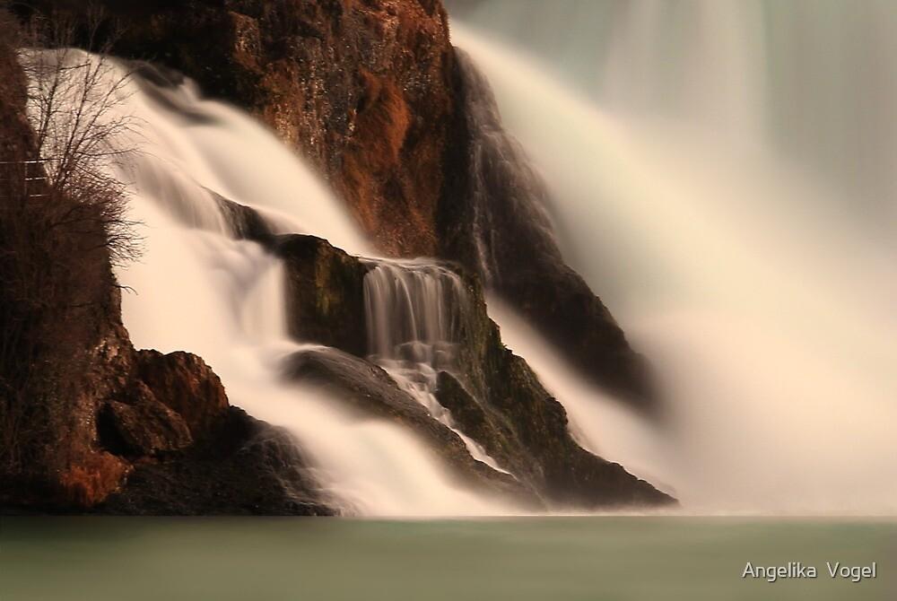 Waterfalls ... Switzerland by Angelika  Vogel