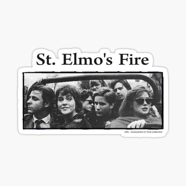 Fuego de San Elmo Pegatina