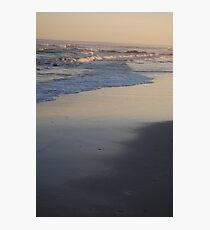 Sunset in Long Beach Photographic Print