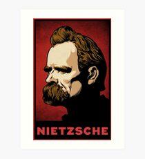 Nietzsche Print Art Print