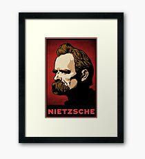Nietzsche Print Framed Print