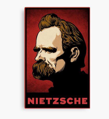 Nietzsche Print Canvas Print