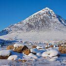 Buachaille Etive Mòr, Lochaber, Scotland by Andrew Doggett