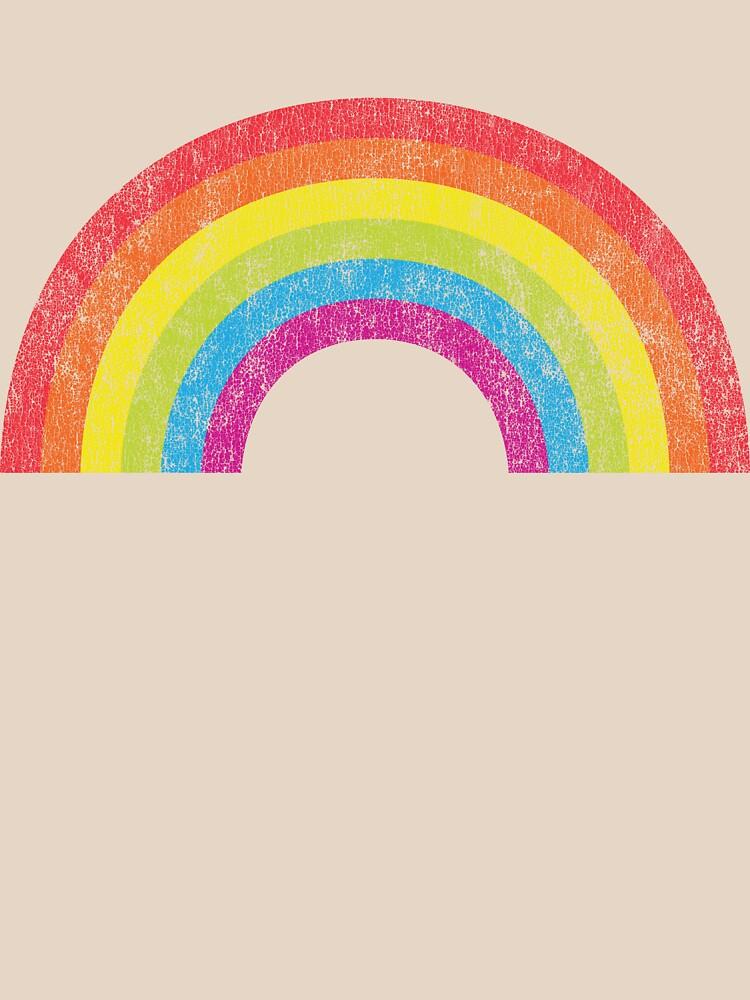TShirtGifter presents: Vintage Rainbow | Women's T-Shirt