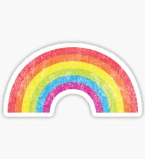 Vintage Rainbow Sticker