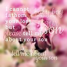 Tell Me About Your Son by Nathalie Himmelrich