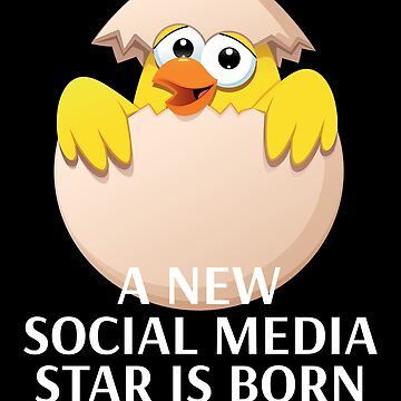 World Record Egg T-shirt A New Social Media Star Is Born by peter2art