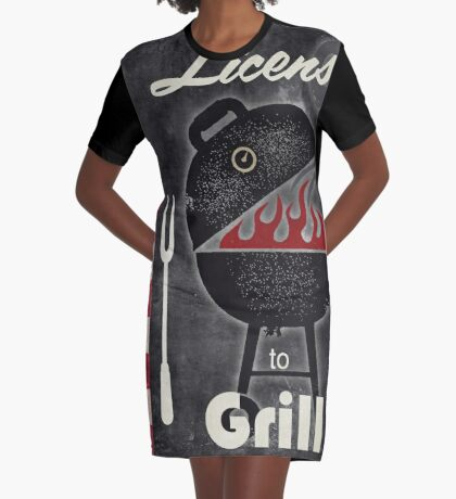 Texas Barbecue III Graphic T-Shirt Dress