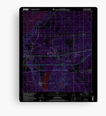 USGS TOPO Map Louisiana LA Eastwood 331904 1999 24000 Inverted Canvas Print