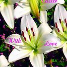 Easter Lilies,  Card by MaeBelle