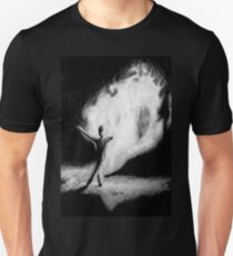 Fire Walking SlenderMan T-Shirt