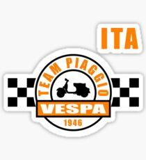 Vespa Team Sticker