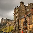 The Castle from Johnston Terrace by Tom Gomez