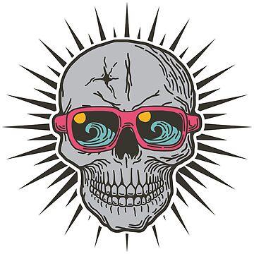 Surf Skull by Skullz23