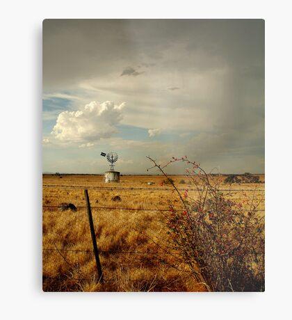 Passing Rain, Geelong District Metal Print