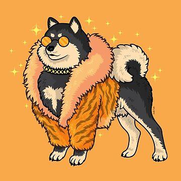 Super Fabulous Shiba by Jennifer-Smith