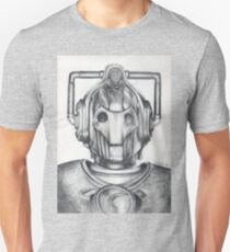 Cyberman Pencil Drawing Unisex T-Shirt