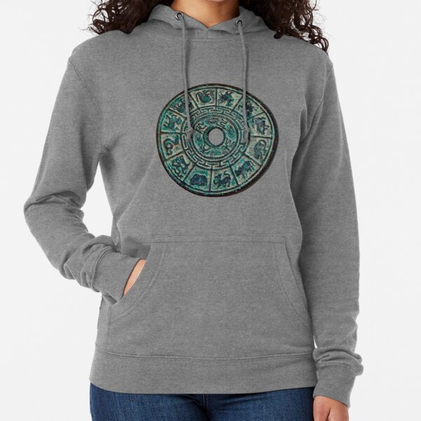 #Ancient #Astrology #Signs, Ancient #zodiac signs, #Circle, 2D shape Lightweight Hoodie