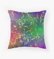 Iris Nova Throw Pillow