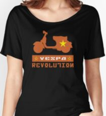 VESPA REVOLUTION Women's Relaxed Fit T-Shirt