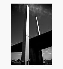 Bolte Bridge reaching for the Sky Photographic Print