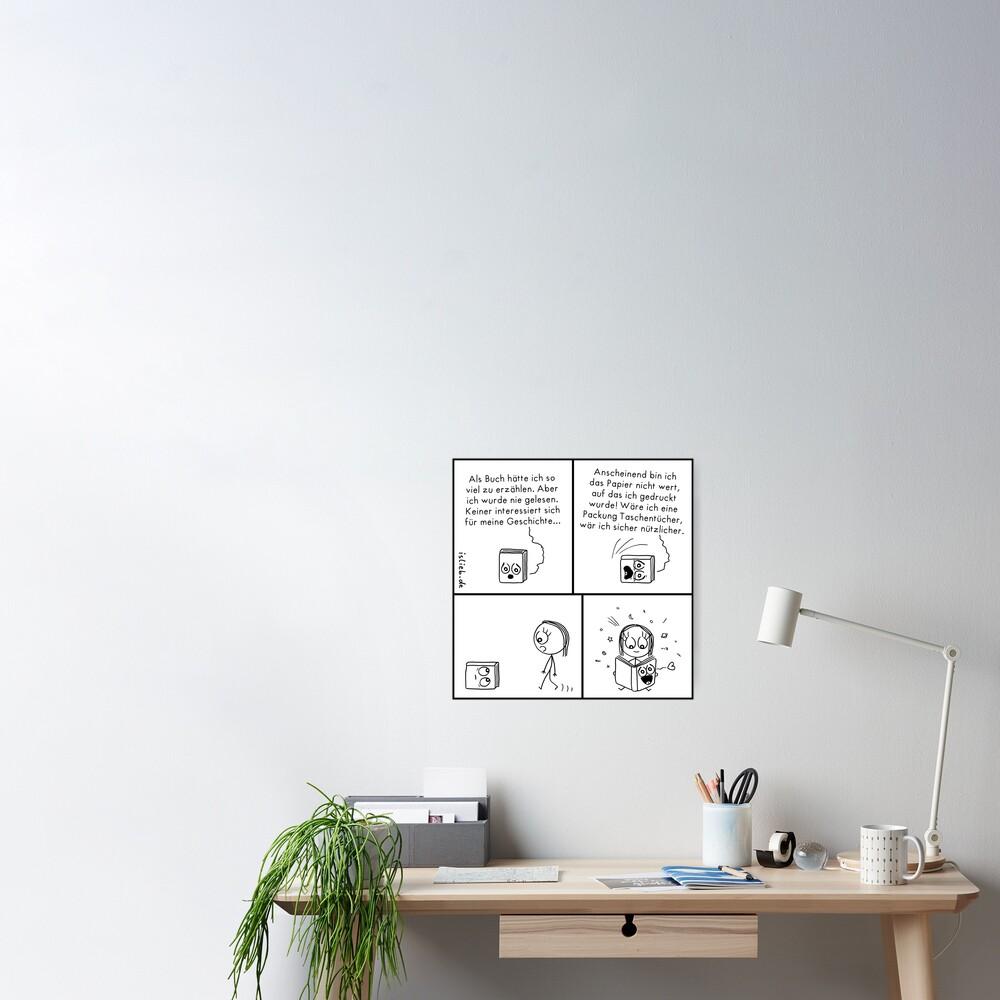 Buch islieb Poster