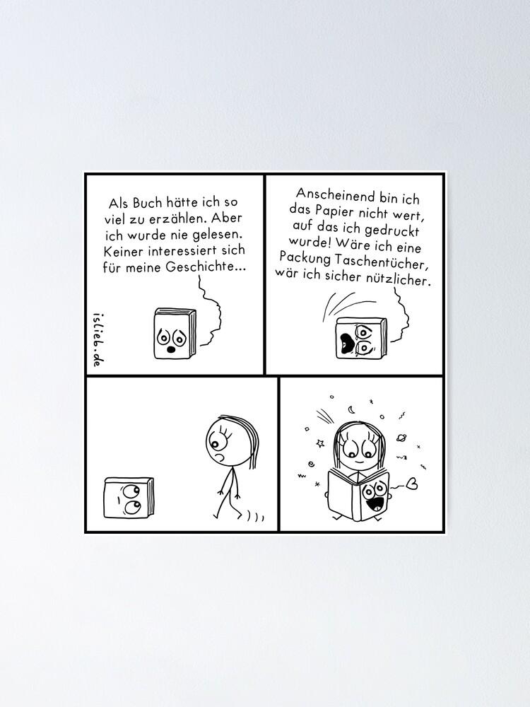 Alternative Ansicht von Buch islieb Poster