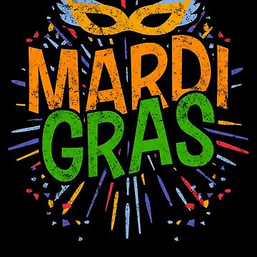 Mardi Gras New Orleans Apparel Party Gift by CustUmmMerch