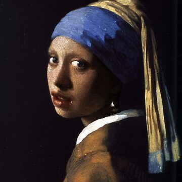 Girl With The Pearl Earring Ethnic by RubinoCreative