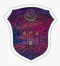 Galaxy Roman Sanders Logo Sticker