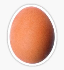 The World Record Egg from Instagram Sticker