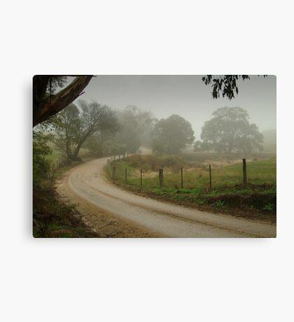 Prendegast Lane,Cobaw,Macedon Ranges Canvas Print