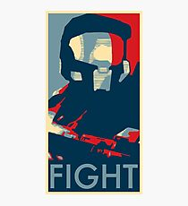 FIGHT - Halo Campaign Photographic Print