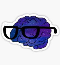 Galaxy Logan Sanders Logo Sticker
